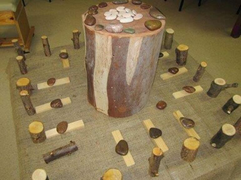 Patterning Using Natural Resources
